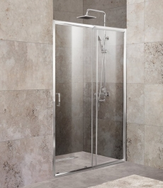 Дверь для душа Belbagno UNIQUE-BF-1-120/135-C-Cr 135  - фото для каталога